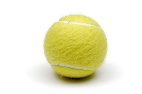 10 tennis facts that will astonish you - Slide 3 of 10:Yellow tennis balls were used for the first time in 1986