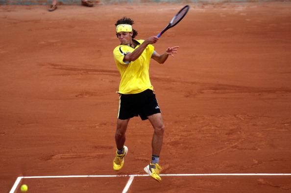 Roland-Garros Tennis Tournament in Paris, France on May 26, 1998 - Gustavo Kuerten.
