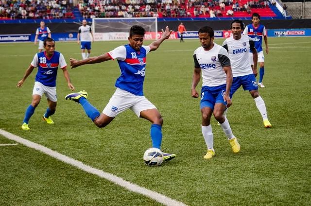 Rino Anto (No.13) Photo Credit: Bengaluru FC