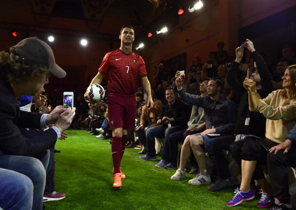 Cristiano Ronaldo unveils new World Cup boot - Nike s Mercurial Superfly a71ed3b40