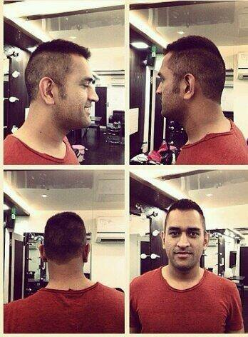 Mahendra Singh Dhoni And 10 Of His Different Hairstyles