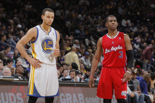 Stephen Curry and Chris Paul