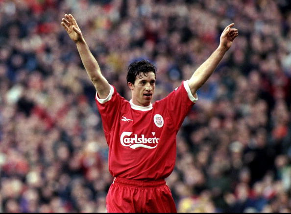 Fowler during his time at Liverpool