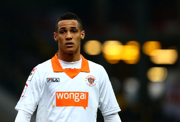 Ince in action for Blackpool