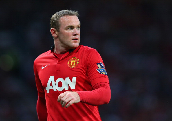 Rooney in action for Manchester United