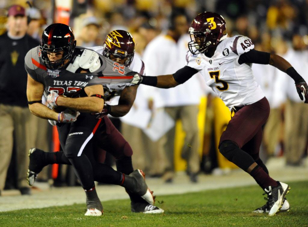 NCAA Football: Holiday Bowl-Arizona State vs Texas Tech