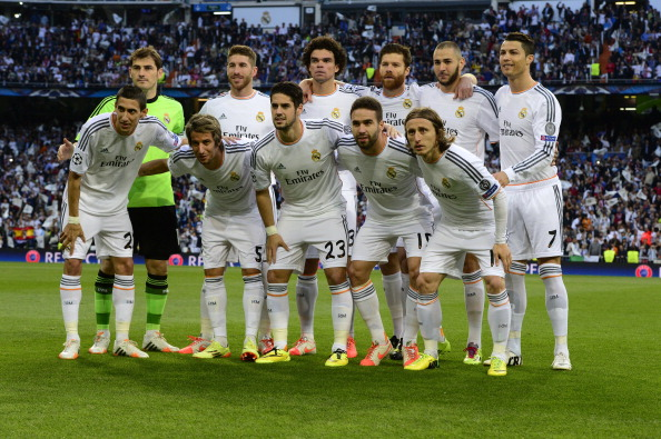 Real Madrid Fc Players 2018