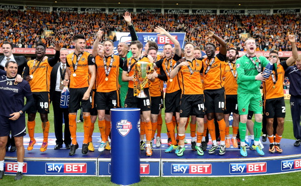 Wolves' have been promoted to the Championship