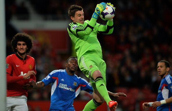 Jakupovic was kept busy by Hull City all evening