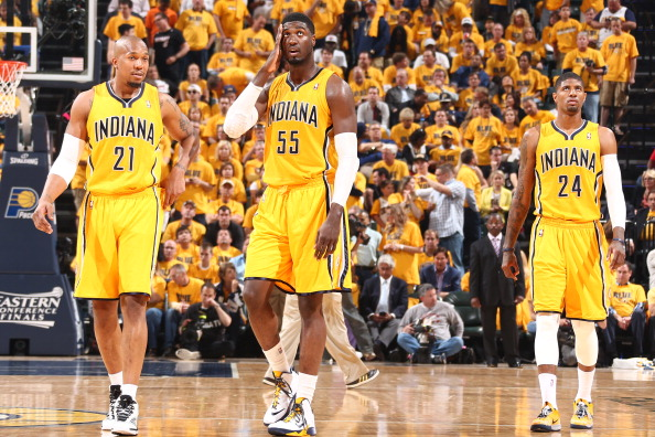 2014 NBA East Conference Finals: Indiana Pacers defeat Miami Heat to take Game 1