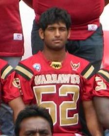 """Manjunatha """"Ray Lewis"""" S.K"""