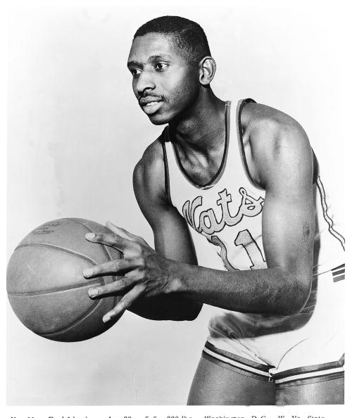 The first Black NBA player