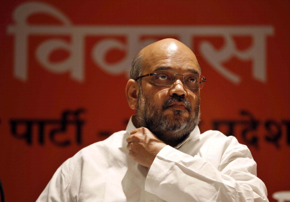 Amit Shah Address Press Conference In Varanasi