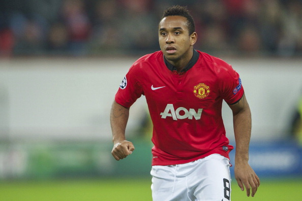 Anderson of Manchester United.