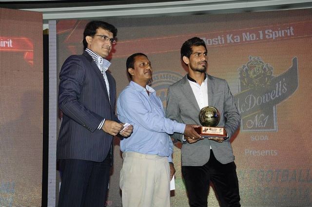 Balwant Singh won the FPAI Indian Player of the Year Award Photo Credit: FPAI