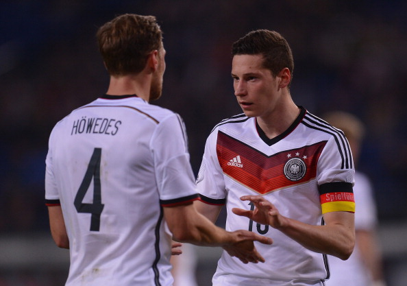 Benedikt Höwedes and Julian Draxler