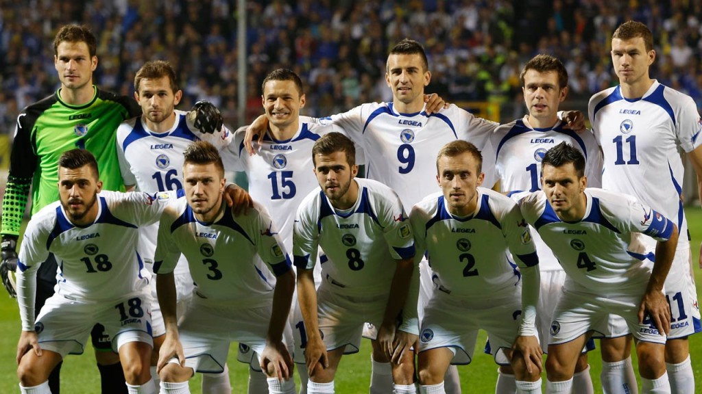 Bosnia and Herzegovina announce their 24 man squad for the FIFA World Cup