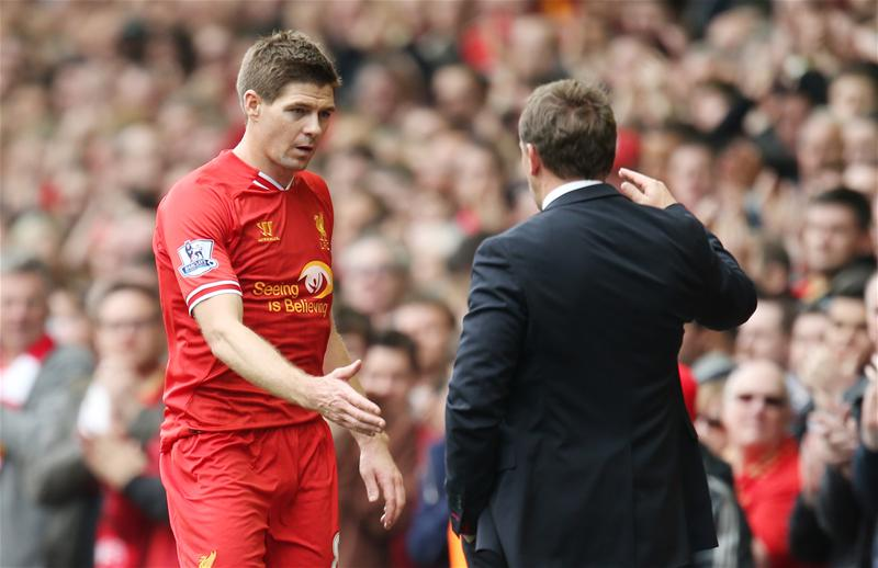Brendan Rodgers and Steven Gerrard
