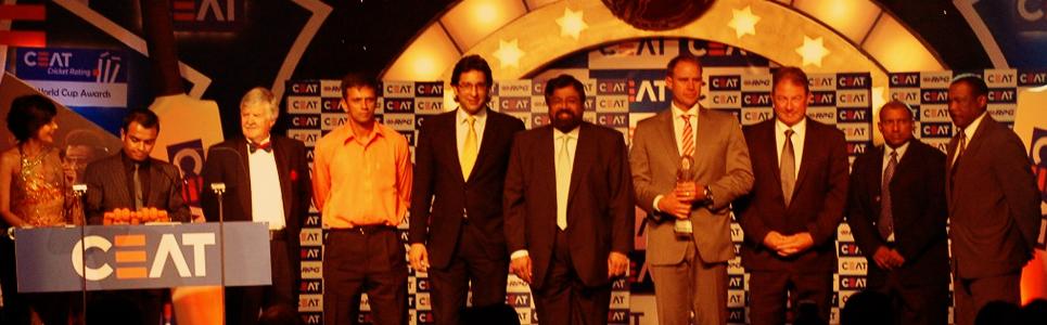 CEAT Cricket Awards ceremony