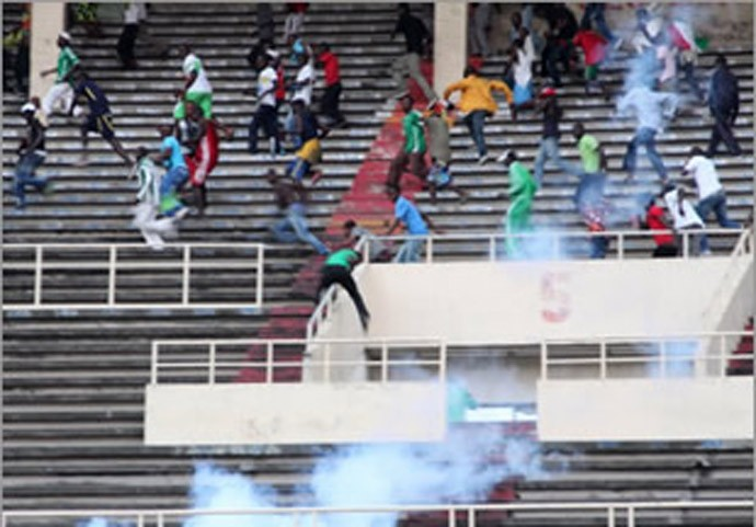 Congo crowd