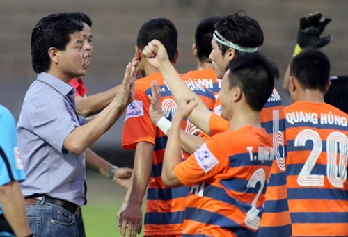 Vissai Ninh Binh were immaculate in the group stage but are now in crisis.
