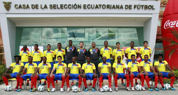 Ecuador announce World Cup Squad