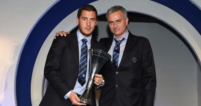 Eden Hazard Chelsea Player of the Year award Jose Mourinho