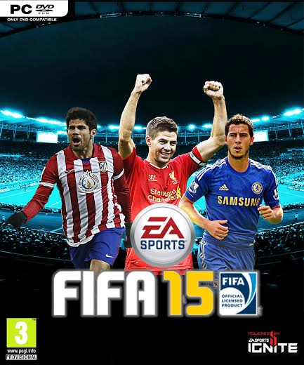 Fan made FIFA 15 cover