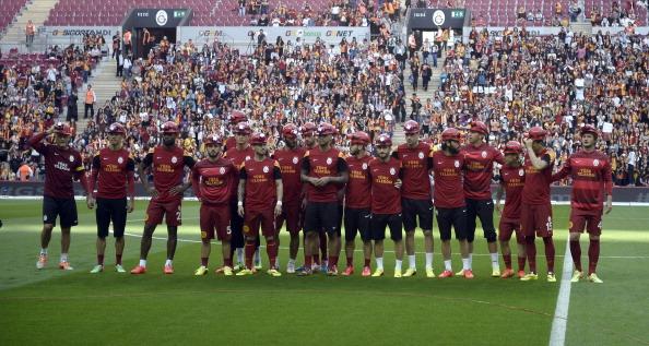 Galatasaray players