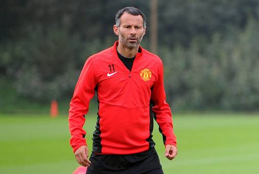 Manchester United's player & manager - Ryan Giggs
