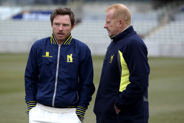 Graeme Welch, with Ian Bell
