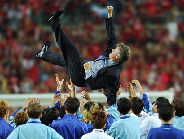 South Korea's Dutch coach Guus Hiddink