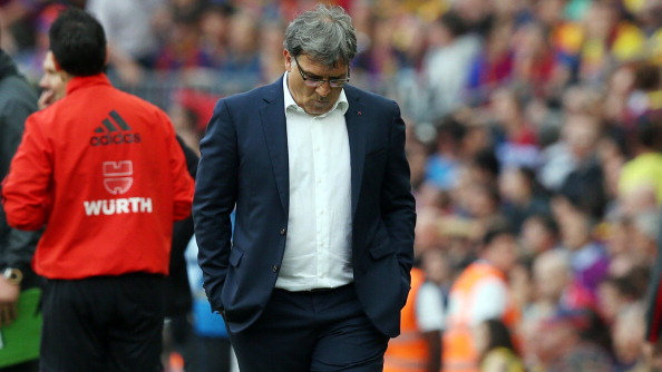 Head coach of FC Barcelona Gerardo Tata Martino