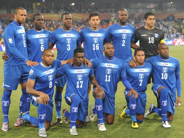 Honduras name 23 man squad for the World Cup
