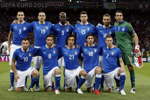 Italy's provisional World Cup squad announced