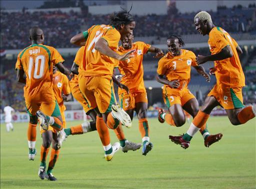 Ivory coast players