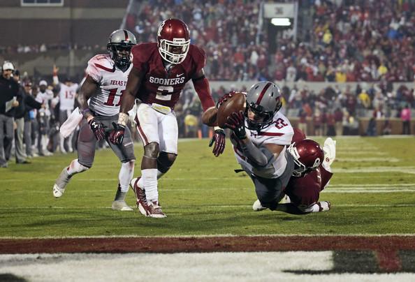 Texas Tech fell short, 30-38, against Oklahoma