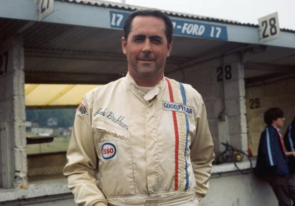 Jack Brabham in a picture from 1970