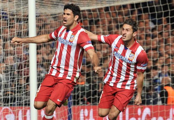 Diego Costa Koke Atletico Madrid
