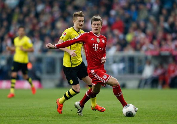 Marco Reus and Toni Kroos