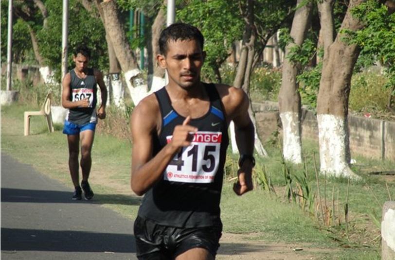 KT Irfan, India's premier race walker