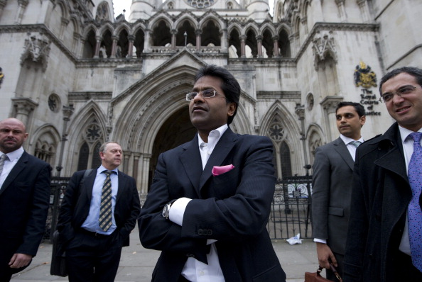 Ex-chairman of India's cricket IPL, Lalit Modi