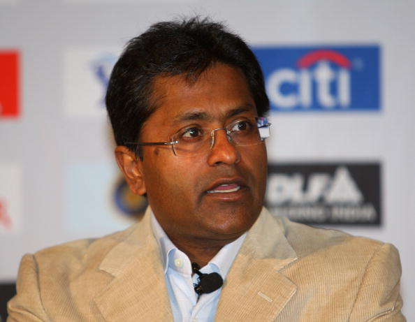 CAPE TOWN, SOUTH AFRICA - APRIL 16:  Lalit Modi, the Chairman of the IPL, talks to the press conference at the CTICC on April 16, 2009 in Cape Town, South Africa.  (Photo by Tom Shaw/Getty Images)