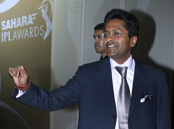 Indian Premier League (IPL) Chairman and Commissioner Lalit Modi attends an IPL awards ceremony in Mumbai late April 23, 2010.  The crisis in the Indian Premier League (IPL) has intensified as a growing rift between cricket chiefs threatened the future of the money-spinning tournament. At the centre of the controversy is Lalit Modi, the high-profile boss of the IPL, which is facing a tax probe amid allegations from the political opposition that the league was a front for money laundering and illegal betting. The Indian cricket board (BCCI), which owns the IPL, has called a meeting of the tournament's governing council on Monday to discuss what the media says is the biggest crisis in the sport since a match-fixing scandal of 2000.   AFP PHOTO/STR (Photo credit should read STRDEL/AFP/Getty Images)