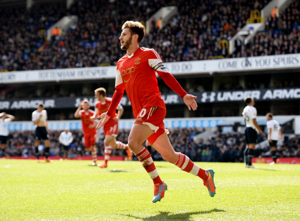 Liverpool make bid for Adam Lallana