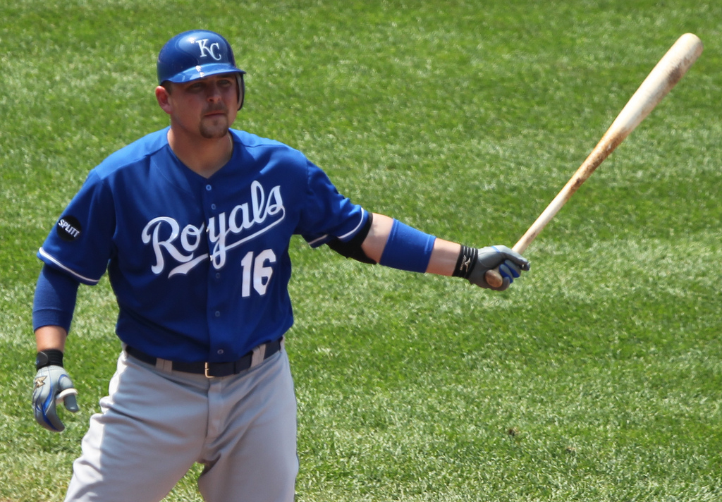 Kansas City Royals designated hitter Billy Butler (16)
