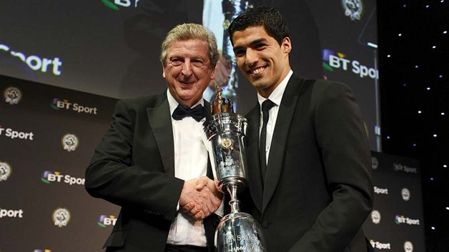 Luis Suarez PFA Player of the year