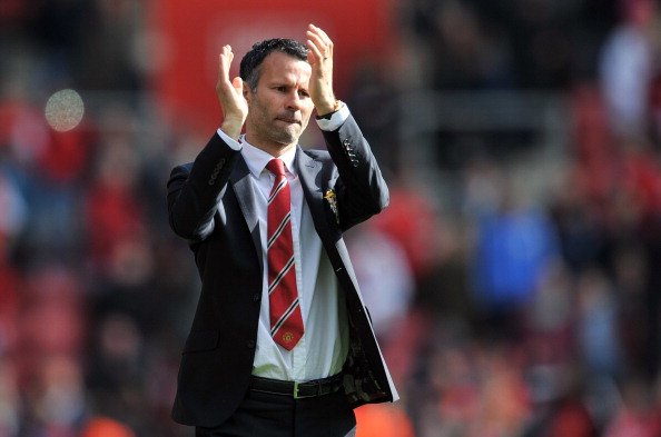 Manchester United's Interim manager Ryan Giggs.