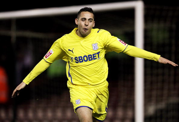 Michael Chopra of Cardiff City
