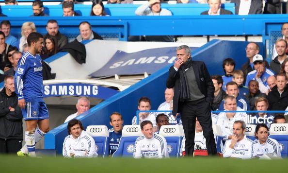 Mourinho and Hazard